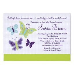 Beautiful Butterflies Butterfly  Invite