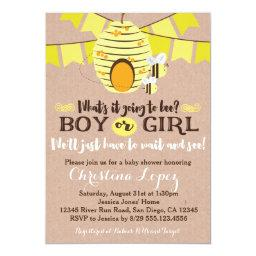 Bee   or Gender Reveal Party