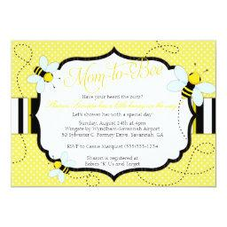 "BEE THEMED - Baby Shower  - Mom to ""Bee"""