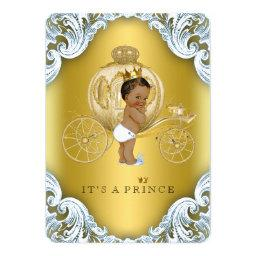 Blue and Gold Carriage Ethnic Prince