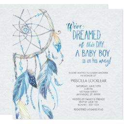 Blue Dreamcatcher Baby Shower