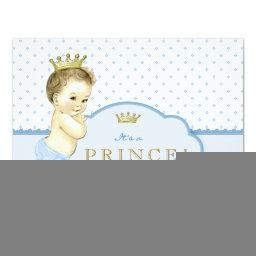 Blue Little Prince Baby Shower