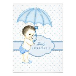 Blue Umbrella Boy Sprinkle