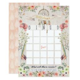 Boho Dreamcatcher Rustic  Bingo Game