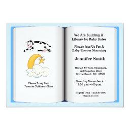 Book Theme Baby Shower  (Boy)