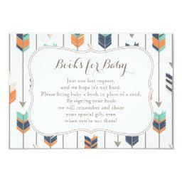 Books Request Tribal Arrows Navy Orange Teal