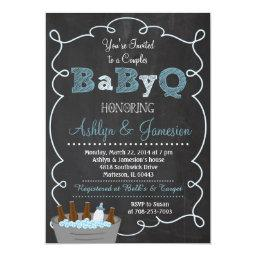 Boy Couples BabyQ BBQ Baby Shower