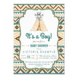 Boys Tribal Teepee Aztec
