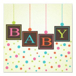 Bright BABY Blocks of Colors Neutral