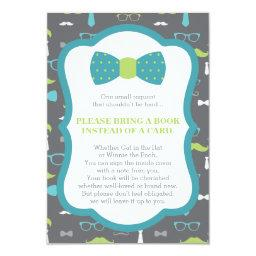 Bring A Book , Little Man, Baby Shower