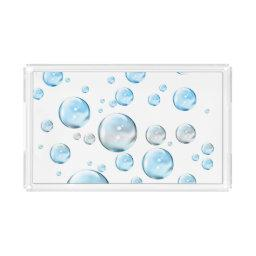 Bubbles Acrylic Tray