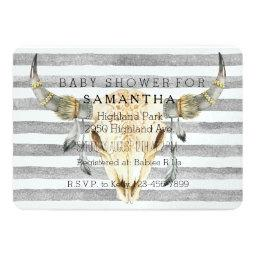 Bull Head Grey Stripes