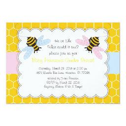 Bumble Bee Gender Reveal