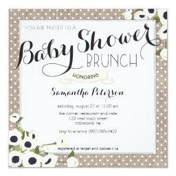 Burlap Flowers  Brunch