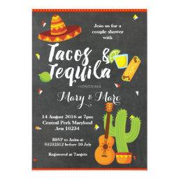 Chalkboard Fiesta Tacos and Tequila