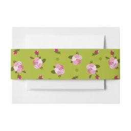 Cherry Tree Flowers  Belly Band