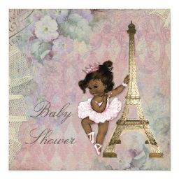 Chic Paris Ethnic Princess Ballerina