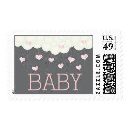 Clouds & Hearts  Sprinkle Girl Postage