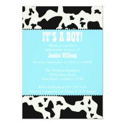 Cow Print Baby Shower