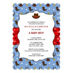 Cowboy  Invite WESTERN / birthday party