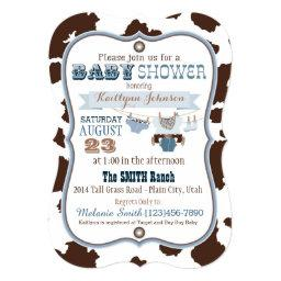 Cowboy Bandanna Jumper Baby Shower