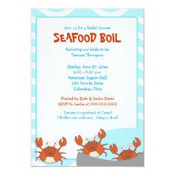 CRAB BOIL Seafood Party