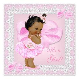 Cute  Girl Pretty Pink Tutu Ethnic