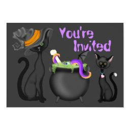 Cute Halloween Black Cats