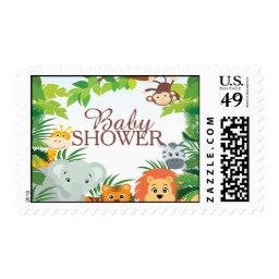 Cute Jungle Safari  Postage Stamp