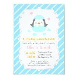 Cute Just Hatched Penguin Baby Shower