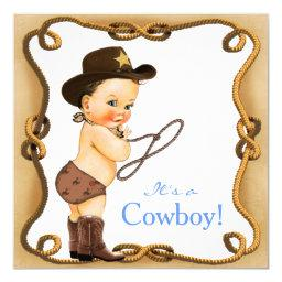 Cute Little Cowboy