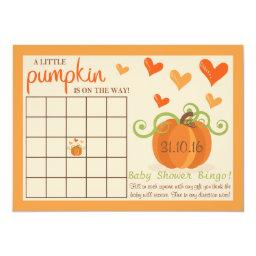 Cute Little Pumpkin  Bingo