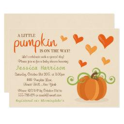 Cute Little Pumpkin Baby Shower