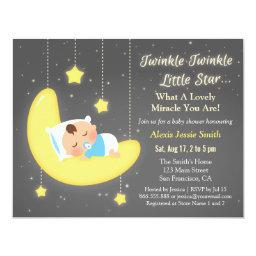 Cute Twinkle Twinkle Little Star Baby Shower