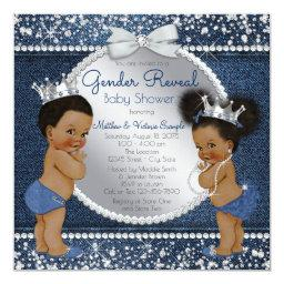 Denim Diamonds Ethnic Gender Reveal Shower