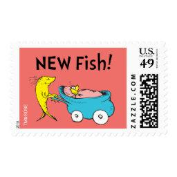 Dr. Seuss | One Fish - Baby Girl  Postage
