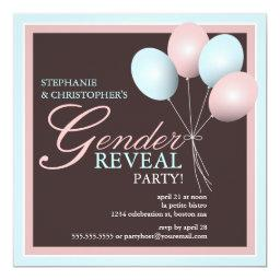 Elegant Baby Balloon Gender Reveal