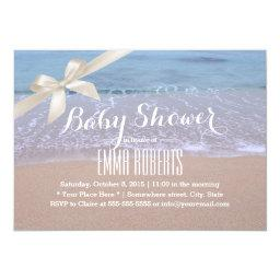 Elegant Beach  with Ivory Ribbon
