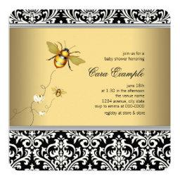Elegant Bumble Bee Baby Shower
