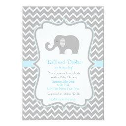 Elephant baby shower  for boys