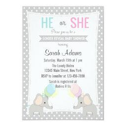 Elephant Gender Reveal Party