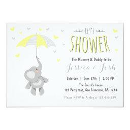 Elephant Little Peanut Baby Shower