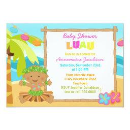 Ethinic Boys Luau Baby Shower