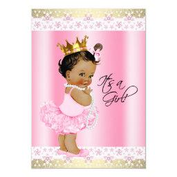 Ethnic Ballerina Tutu Baby Girl Shower