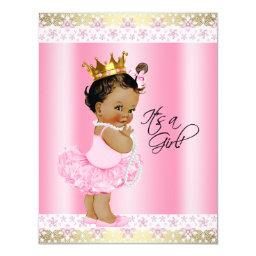 Ethnic Ballerina Tutu Pearl Baby Girl Shower