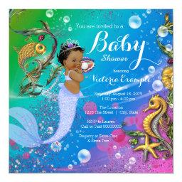 Ethnic Mermaid Under the Sea Baby Shower