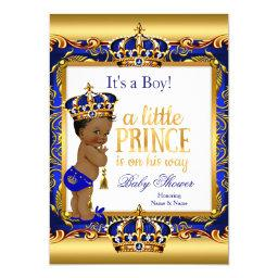Ethnic Prince  Blue Ornate Gold