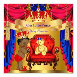 Ethnic Prince  Gold Bear Red Blue