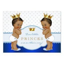 Ethnic Prince Twin Boy Baby Shower