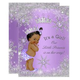 Ethnic Princess Baby Shower Lavender Wonderland